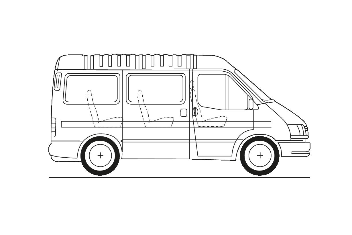 3,5 Tm. Minibús 9 plazas