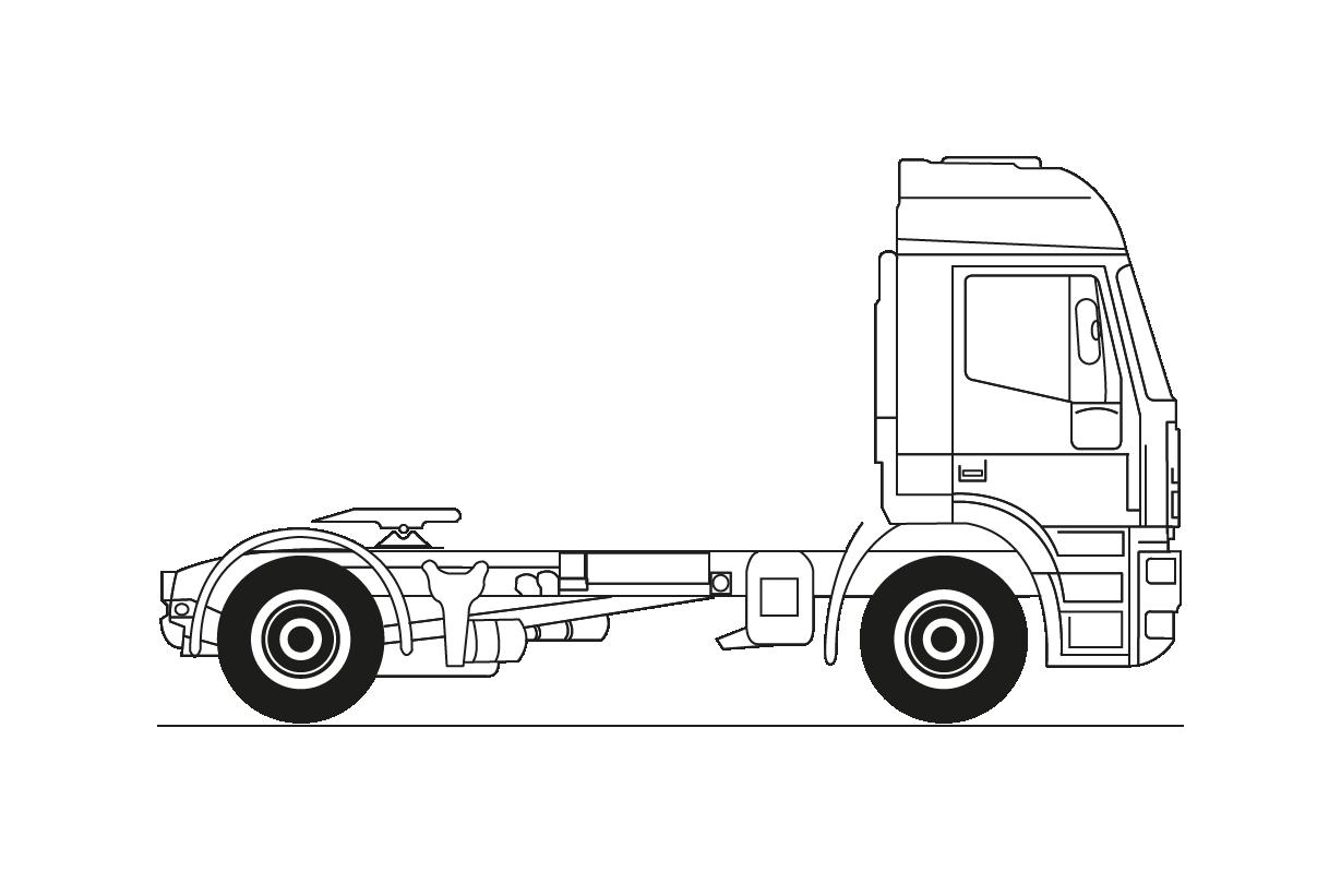 Tractora distribución