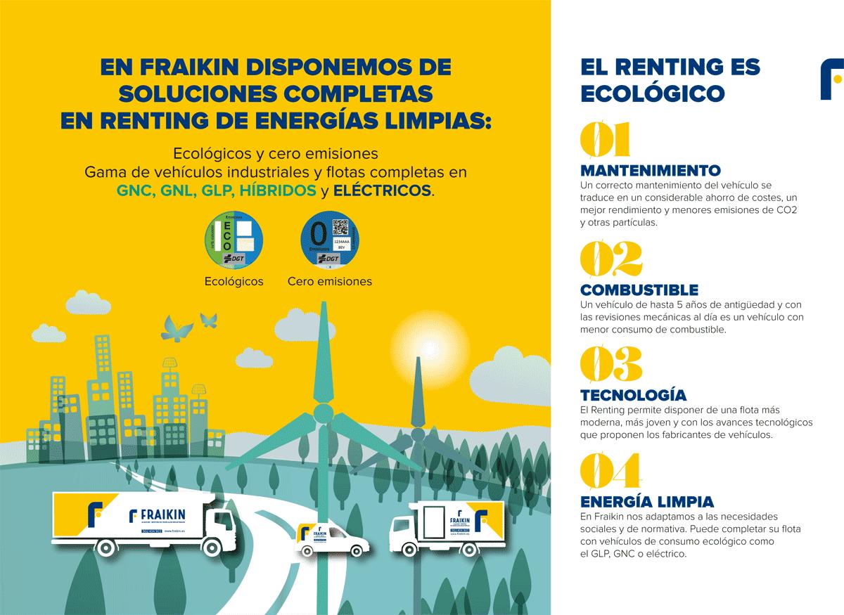 Renting vehículos ecológicos