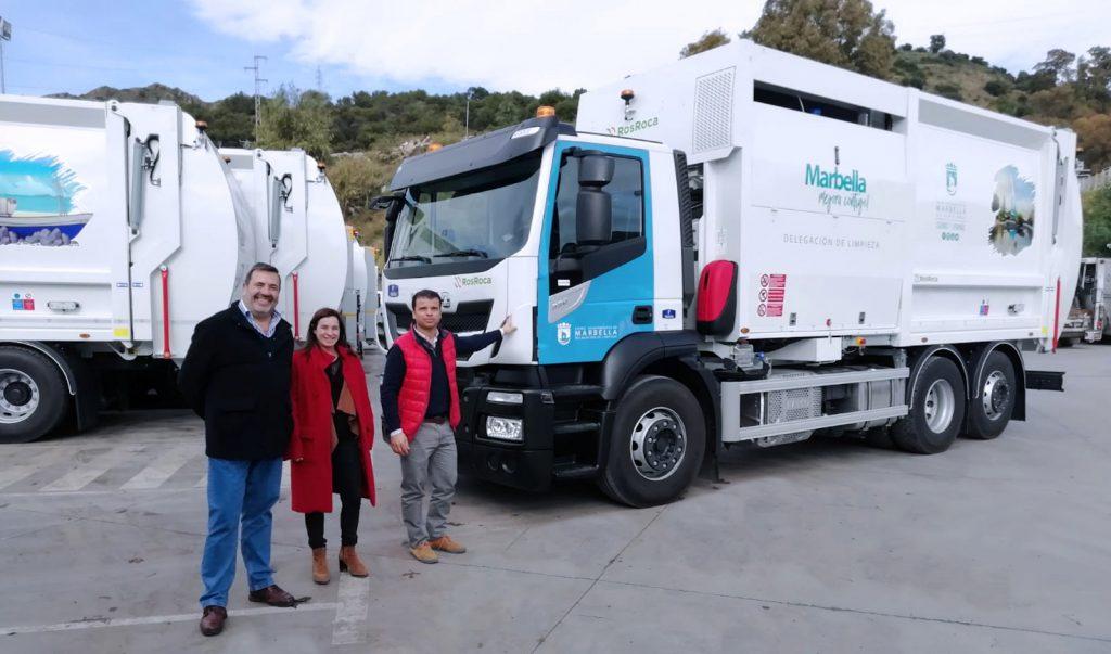 Recolectores recogida de residuos de carga lateral Iveco STRALIS Euro 6