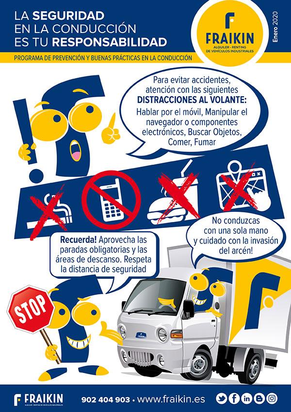 Programa de prevención y buenas prácticas en la conducción